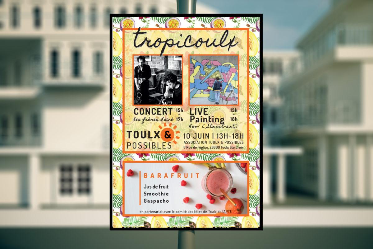 affiche tropicoulx Toulx & possibles