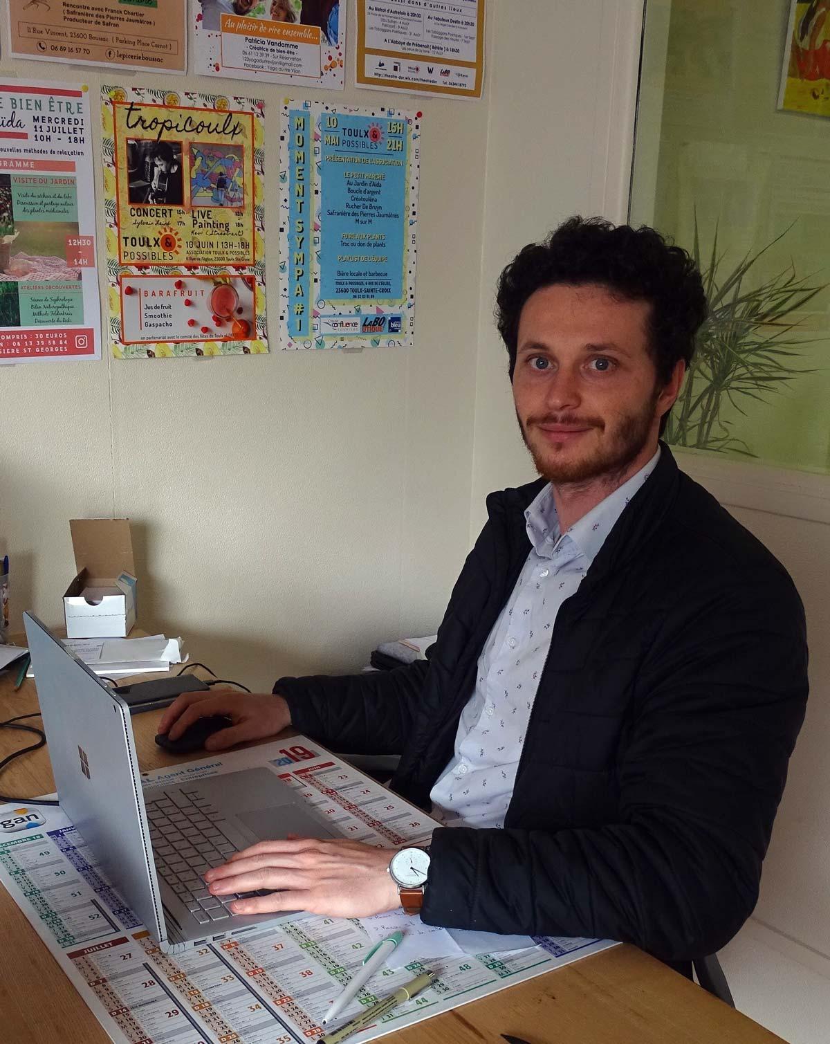 Sylvain Gengo Communication et design graphique en Creuse